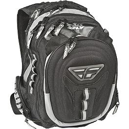Fly Racing Illuminator Backpack - 2012 Fly Racing Kinetic Helmet - Flash