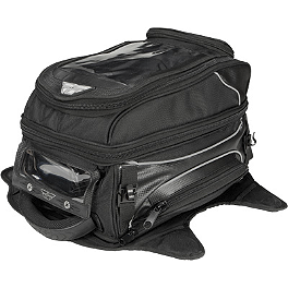 Fly Racing Grande Tank Bag - Fly Racing Tourist Helmet - Cirrus
