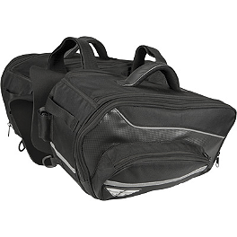 Fly Racing Grande Saddlebag - Saddlemen Expandable Sport Saddlebags