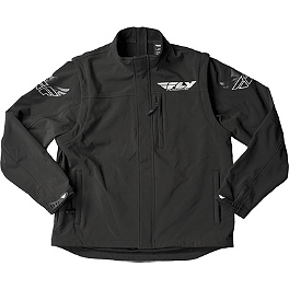 Fly Racing Black Ops Convertible Jacket - Oakley Proven MX Roll-Off Accessory Kit