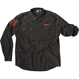 Fly Racing Button Long Sleeve Shirt - Fly Pit Shirt