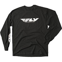 Fly Racing Corporate Long Sleeve T-Shirt - Alpinestars Full Grain Long Sleeve T-Shirt