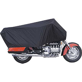 Fly Racing Day Motorcycle Cover - Show Chrome Universal Half Cover