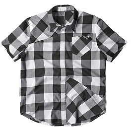 Fly Racing Jack Down Button Up Shirt - FMF Scratch Short Sleeve Shirt