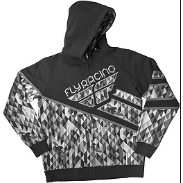 Fly Racing Kinetic Zip Hoody - Alpinestars Busted Bones Zip Hoody
