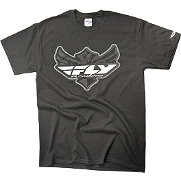 Fly Racing Logo T-Shirt - Fly Racing Corporate T-Shirt