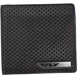 Fly Racing Leather Wallet - FMF Raw Leather Wallet