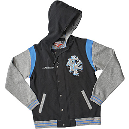 Fly Racing MVPlayer Zip Hoody - Dragon Block Out Zip Hoody