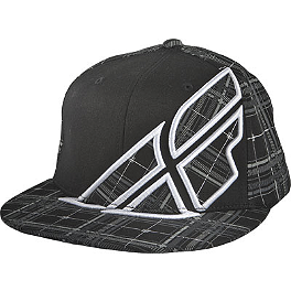 Fly Racing Plaid F-Wing Hat - Fly Racing Impress Release Hat