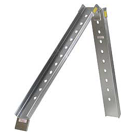 Fly Racing Folding Aluminum Ramp - 7.5' - Fly Racing Aluminum Ramp - 6'