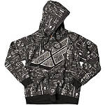 Fly Racing Reverse-A-Billy Zip Hoody - Motorcycle Mens Casual