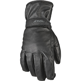 Fly Racing Rumble CW Gloves - River Road Taos Leather Gloves
