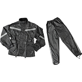 Fly Racing Two-Piece Rain Suit - AXO Oxford Dryder Two-Piece Rain Suit