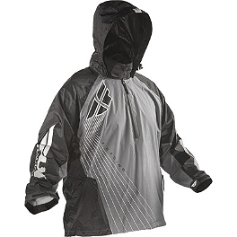 Fly Racing Stow-A-Way 2 Jacket - AXO Oxford Dryder Two-Piece Rain Suit