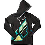 Fly Racing Women's Contempodium Zip Hoody - Utility ATV Womens Sweatshirts and Hoodies