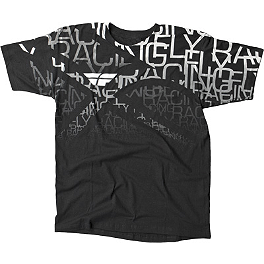 Fly Racing Wire T-Shirt - One Industries Rockstar Puzzled T-Shirt