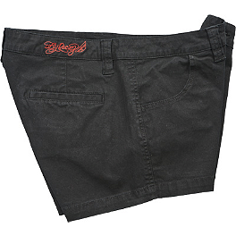 Fly Racing Women's MX-Quisite Shorts - One Industries Women's Rockstar Throwback Shorts