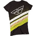 Fly Racing Women's Sprightly T-Shirt - Fly Dirt Bike Womens Casual