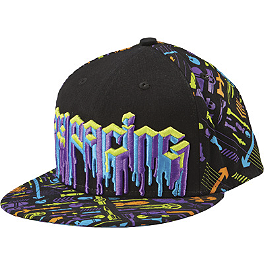 Fly Racing Youth Bombdrip Hat - One Industries Youth Courtside Punked Linden Hat