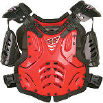 2012 Fly Racing Youth Convertible II Roost Deflector -  Motocross Chest and Back Protection