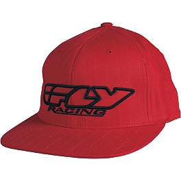 Fly Racing Youth Corporate Pin Stripe Hat - One Industries Youth Cutty J-Fit FlexFit Hat