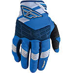 2013 Fly Racing Youth F-16 Gloves - Dirt Bike Riding Gear