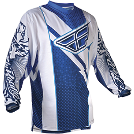 2013 Fly Racing Youth F-16 Jersey - 2011 Fly Racing Youth Kinetic Jersey - Flash
