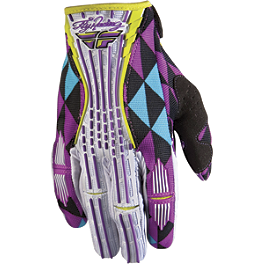 2012 Fly Racing Girl's Kinetic Gloves - 2012 Fly Racing Youth Kinetic Gloves