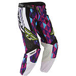 2012 Fly Racing Girl's Kinetic Race Pants -  Dirt Bike Riding Pants & Motocross Pants