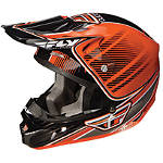 2013 Fly Racing Youth Kinetic Pro Helmet - Trey Canard Replica - FLY-KINETIC--HELMET-TREY-CANARD-REPLICA Fly Kinetic Dirt Bike