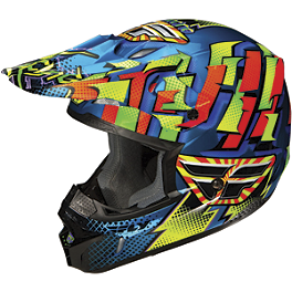 2013 Fly Racing Youth Kinetic Dash Helmet - 2012 Fox Youth V1 Helmet - Undertow