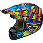 2013 Fly Racing Youth Kinetic Dash Helmet - Utility ATV Off Road Helmets