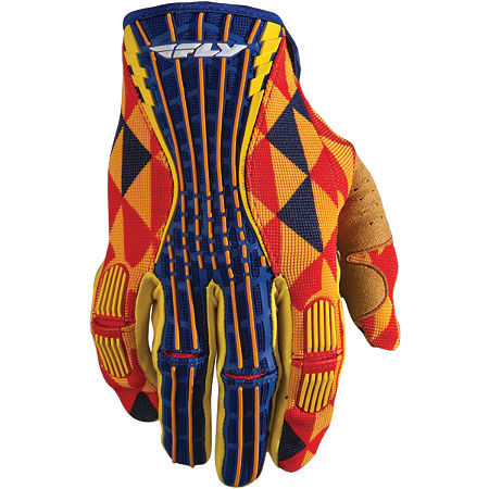 2012 Fly Racing Youth Kinetic Gloves - Main