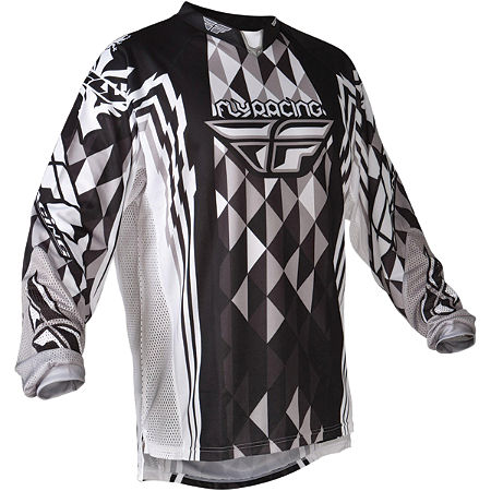 2012 Fly Racing Youth Kinetic Jersey - Main
