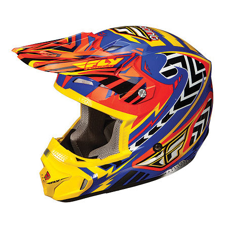 2013 Fly Racing Youth Kinetic Pro Helmet - Andrew Short Replica - Main