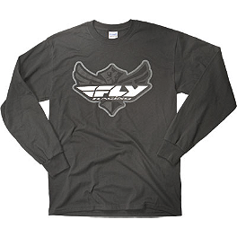 Fly Racing Youth Logo Long Sleeve T-Shirt - Alpinestars Youth Shattered T-Shirt