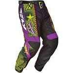 2012 Fly Racing Youth F-16 Pants - Limited Edition - Utility ATV Riding Gear