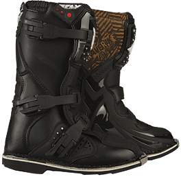2013 Fly Racing Youth Maverik MX Boots - AXO Youth Drone Jr. Boots