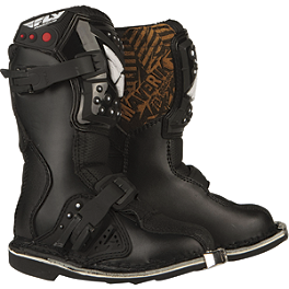 2014 Fly Racing Youth Maverik MX Mini Boots - 2013 MSR Youth VX-1 Boots