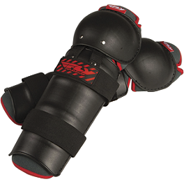 Fly Racing Youth Knee Guards - 2012 Fly Racing Youth Flex II Knee Guards