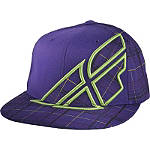 Fly Racing Youth Plaid F-Wing Hat - Youth ATV Head Wear
