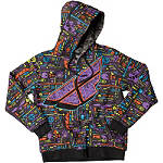Fly Racing Youth Reverse-A-Billy Zip Hoody - Dirt Bike Casual Clothing & Accessories