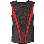 Fly Racing Youth Undercover II Pullover Chest Protector - Fly Dirt Bike Chest and Back