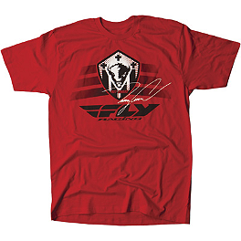 Fly Racing Youth Trey Canard T-Shirt - Fly Youth Flywheel T-Shirt