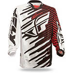 2014 Fly Racing Kinetic Mesh Jersey - Shock - Fly Dirt Bike Riding Gear