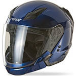 Fly Racing Tourist Helmet - Motorcycle Open Face