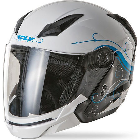 Fly Racing Tourist Helmet - Cirrus - Main