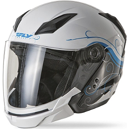 Fly Racing Tourist Helmet - Cirrus - Fly Racing Tourist Helmet