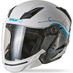 Fly Racing Tourist Helmet - Cirrus - Motorcycle Open Face