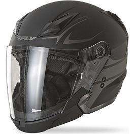 Fly Racing Tourist Helmet - Vista - Fly Racing Tourist Helmet - Cirrus